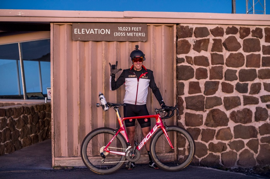 Jon Patrick Hyde - Haleakala Summit - Eagle Bicycles