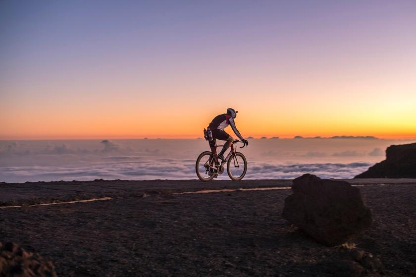 Jon Patrick Hyde at the Summit of Mt. Haleakala