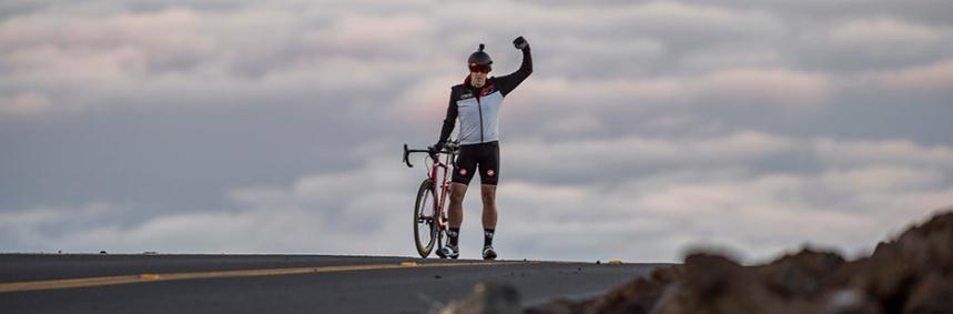 Jon Patrick Hyde Summits Mt. Haleakala