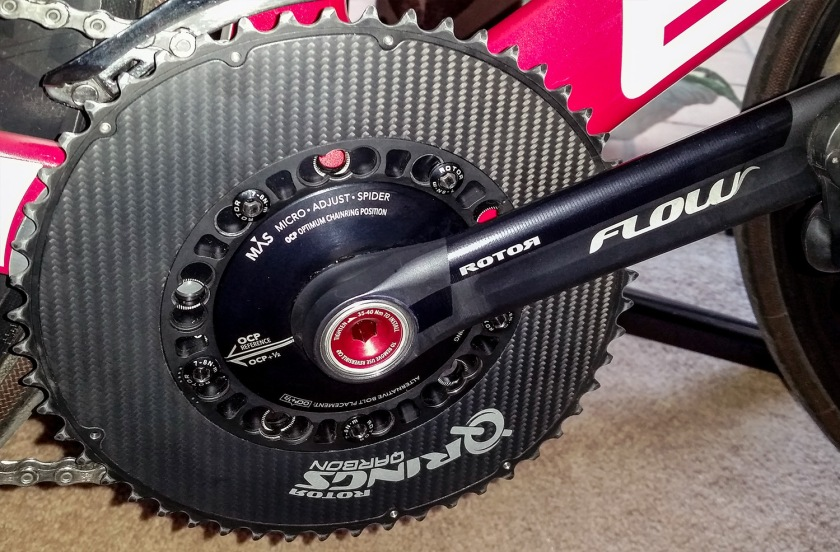 Rotor Bike Components Flow and Qarbon Q-Rings power the Summit4CAD Eagle Z3 Super Bike.