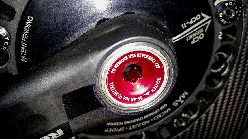 Rotor FLOW Crank Design Brilliance