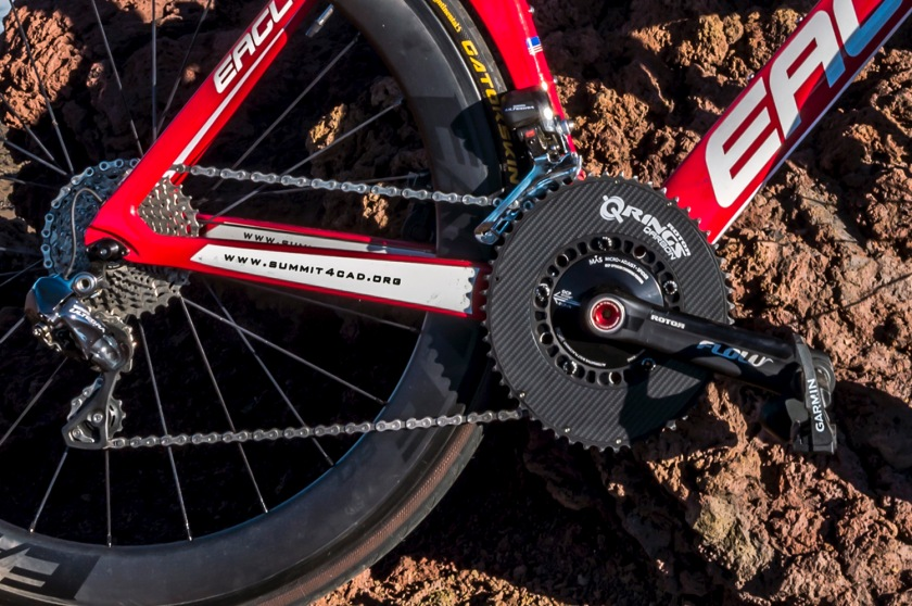 Rotor Bike Components Flow and Qarbon Q-Rings