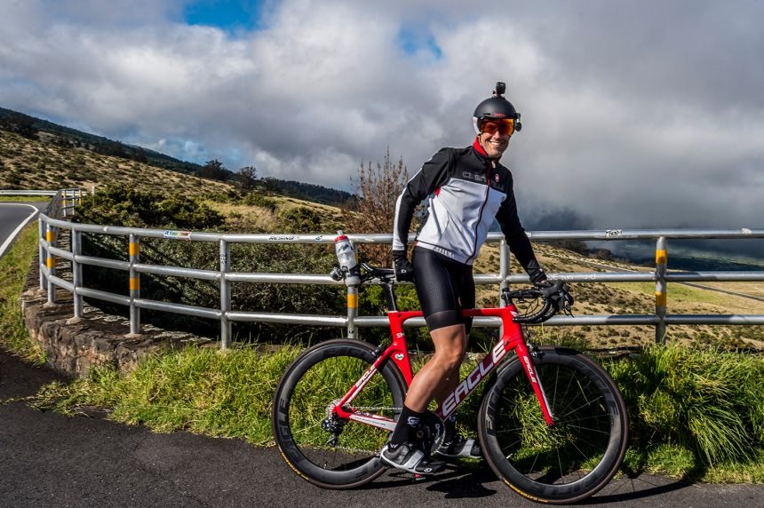 Jon Patrick Hyde with Eagle Bicycles Custom Z3 for Summit4CAD