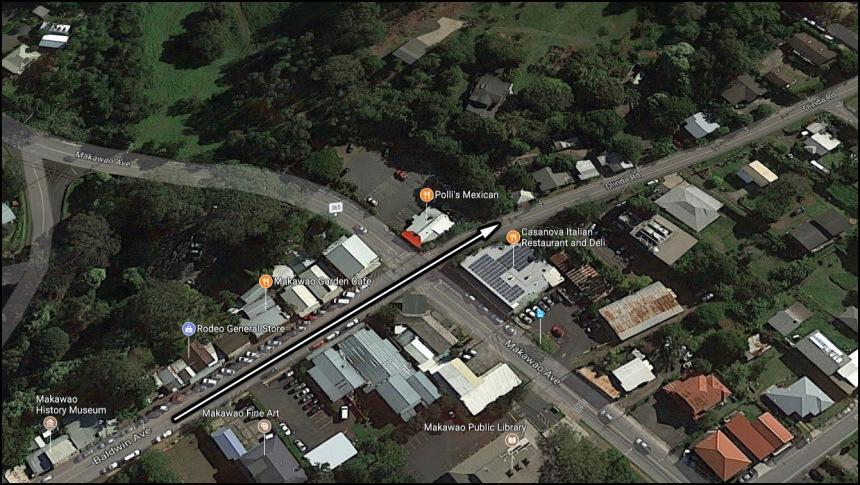 Turns_Baldwin Ave to Olinda Rd