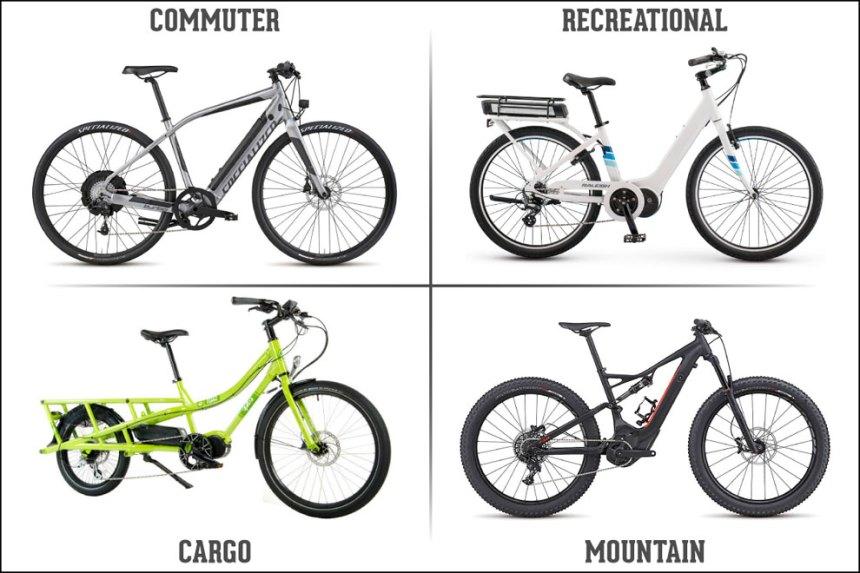 P_Guide_E-Bike_Different_Types