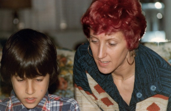 Me and my mom - 1980