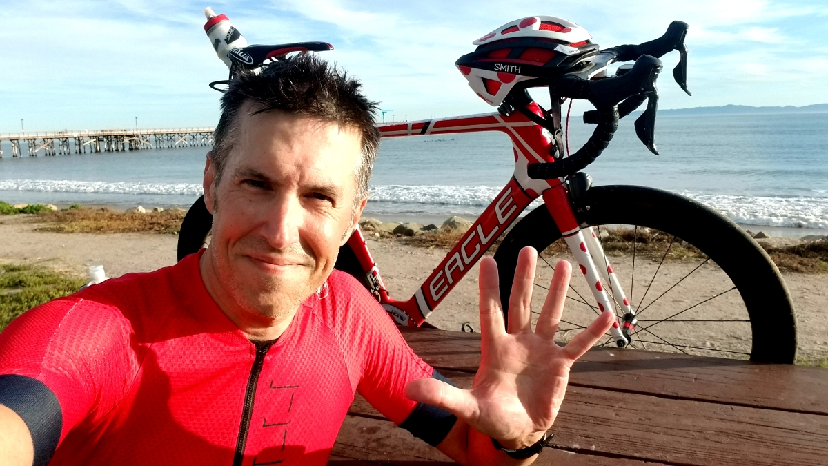 Summit4CAD Founder Jon Patrick Hyde Cycles 50,000 Miles After A Widowmaker Heart Attack.